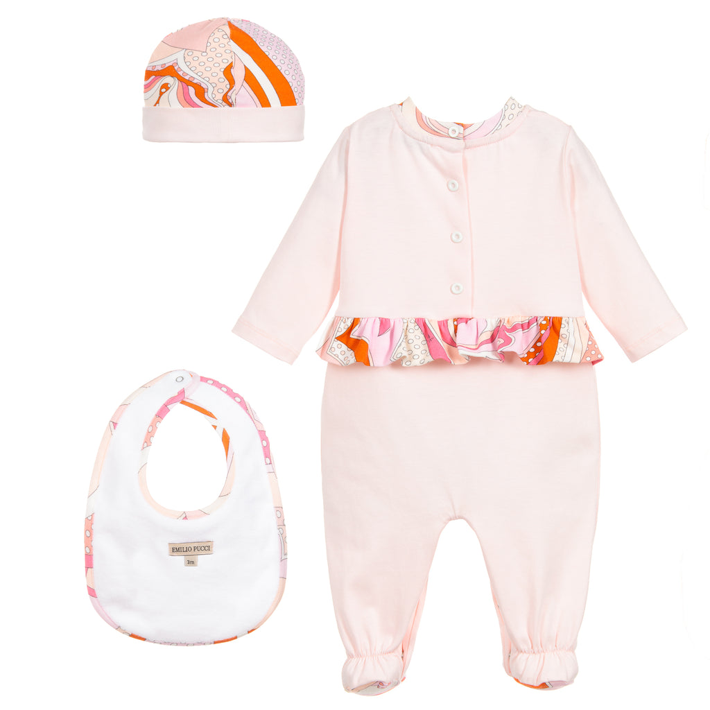 Baby Girls 3 Piece Gift Set