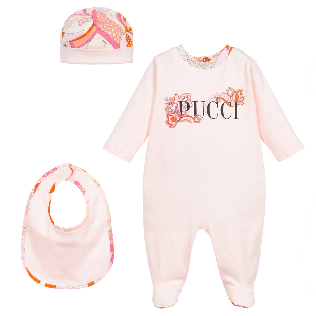25a0605fc337 Baby Girls 3 Piece Gift Set