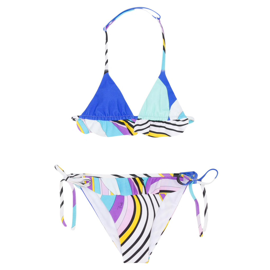 Emilio Pucci Girls Colorful Bikini Set
