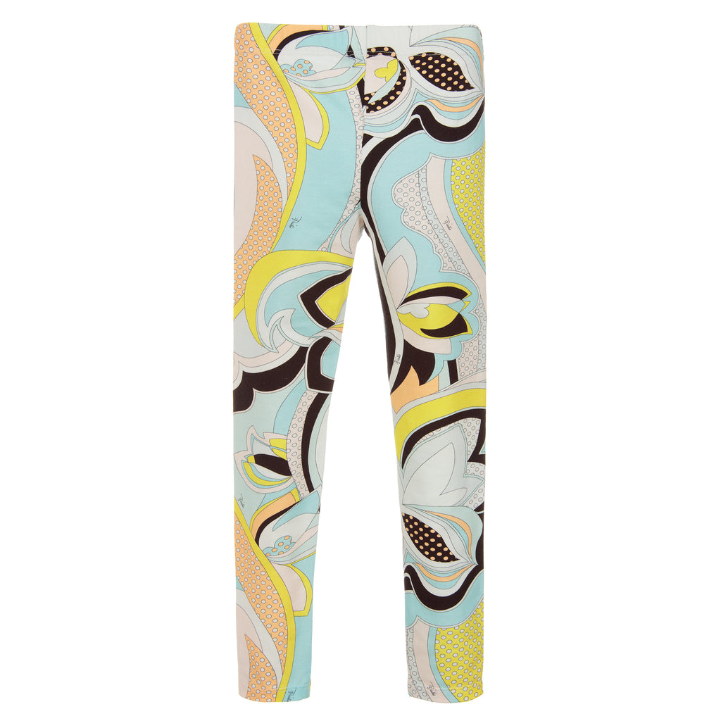 Girls Colorful Luxury Leggings (Mini-Me)