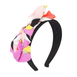 Girls Headband with Colorful Bow