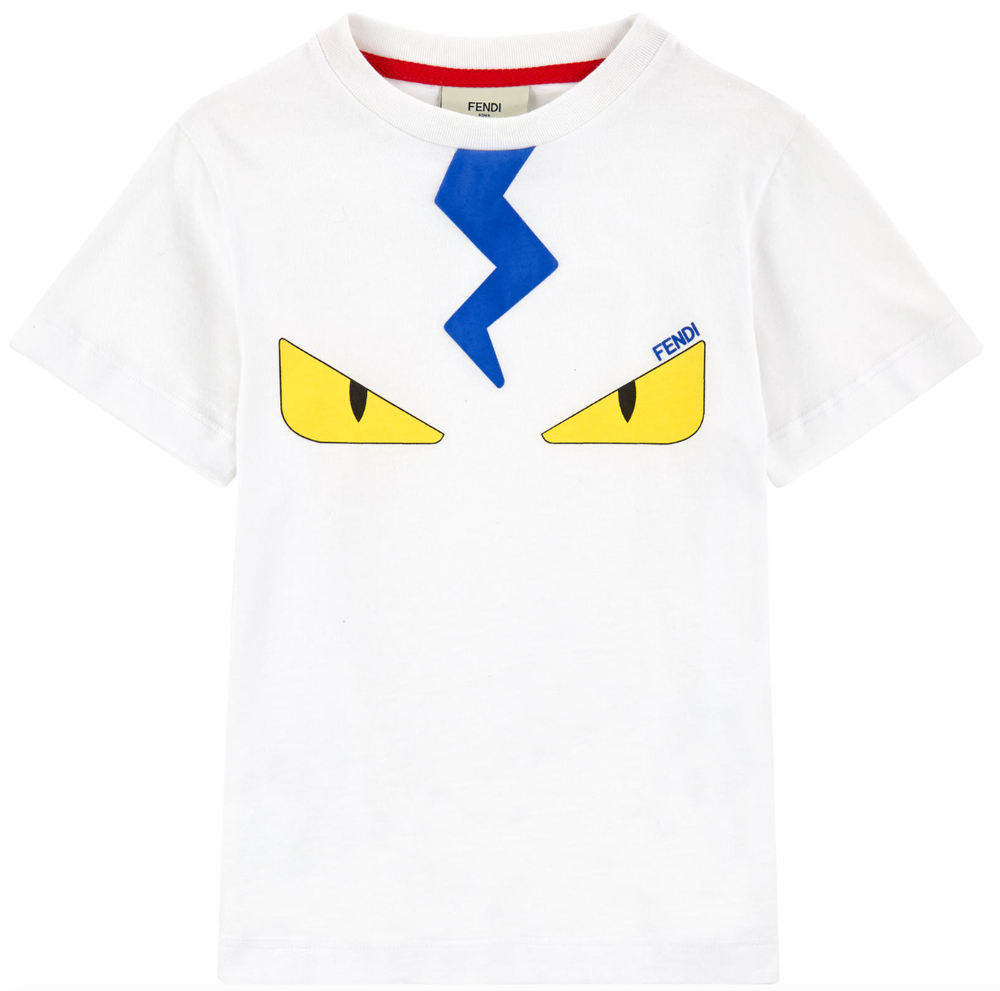Fendi Boys 'Monster' T-shirt Boys T-shirts Fendi [Petit_New_York]