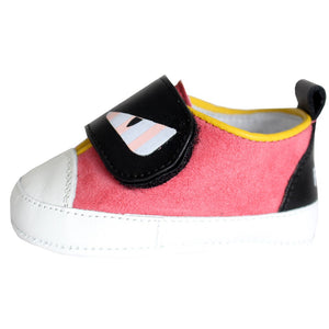 Baby Girls Pink 'Monster' Shoes