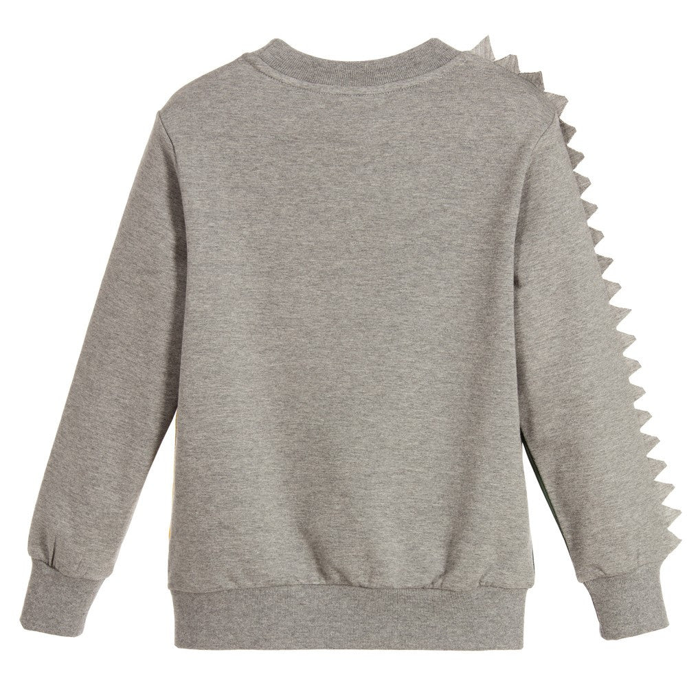 Fendi Boys 'Monster FF' Spiked Sweater Boys Sweaters & Sweatshirts Fendi [Petit_New_York]