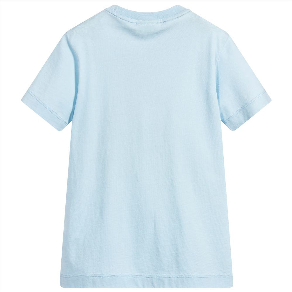 Fendi Boys Pale Blue Video Game Print T-shirt