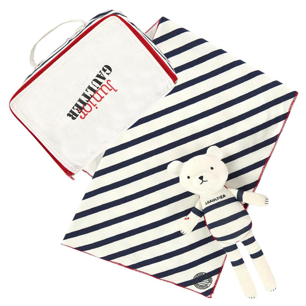 Gaultier Baby Blanket and Toy Gift Set