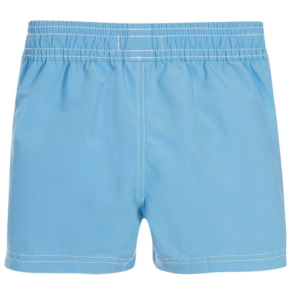 Hugo Boss Baby Boys Blue Logo Swim Shorts Baby Swimwear Boss Hugo Boss [Petit_New_York]