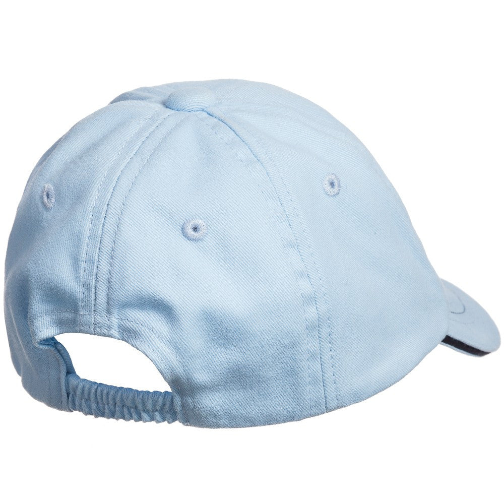 Hugo Boss Baby Boys Sky Blue Cap Baby Hats, Scarves & Gloves Boss Hugo Boss [Petit_New_York]
