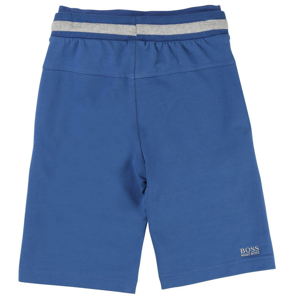 Hugo Boss Boys Blue Shorts Boys Shorts Boss Hugo Boss [Petit_New_York]