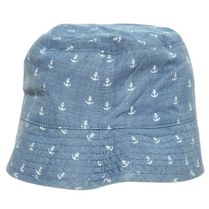 Hugo Boss Baby Boys Denim Anchor Bucket Hat Baby Hats, Scarves & Gloves Boss Hugo Boss [Petit_New_York]