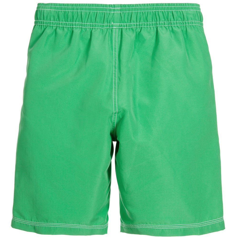 Hugo Boss Boys Green Logo Swim Shorts Boys Swimwear Boss Hugo Boss [Petit_New_York]