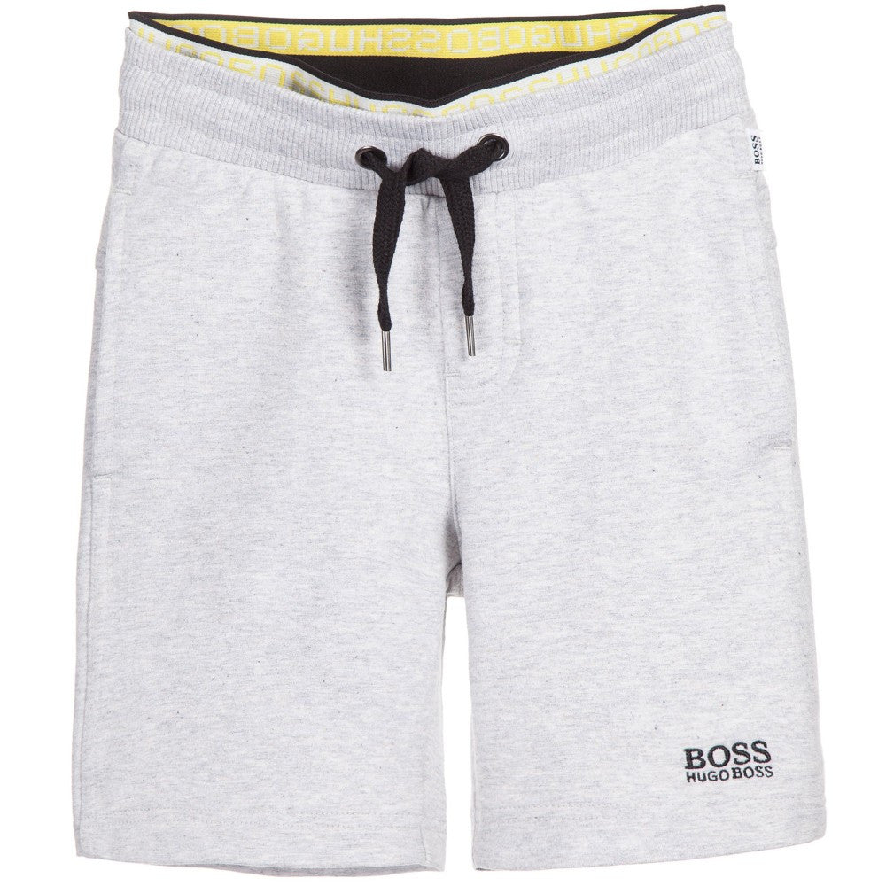Hugo Boss Boys Light Grey Shorts Boys Shorts Boss Hugo Boss [Petit_New_York]