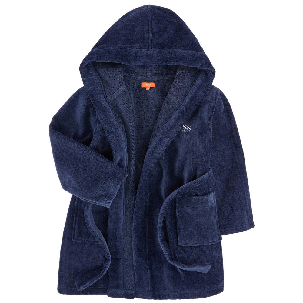 favorable price cheapest sale factory authentic Boys Logo Bathrobe With Hood