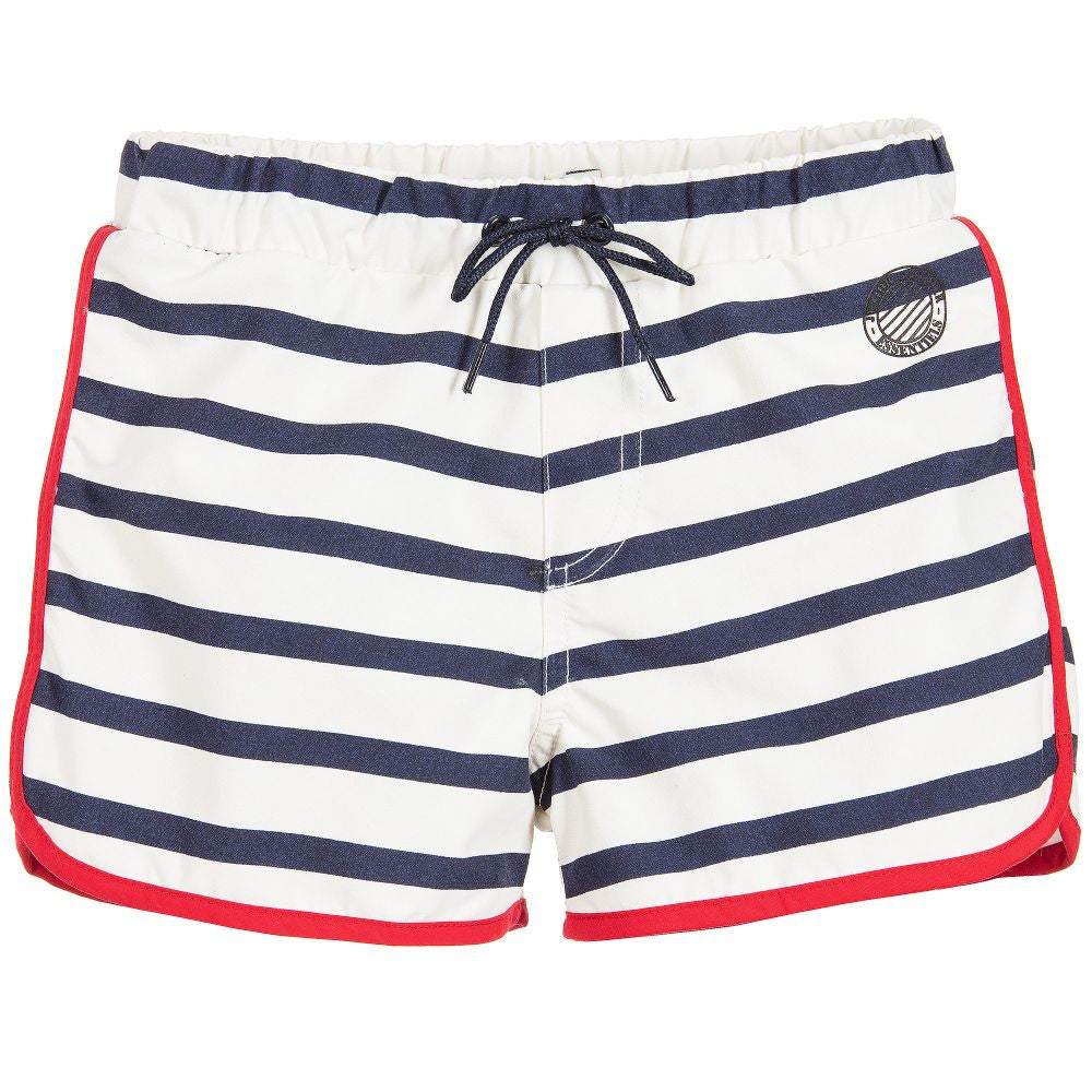 Junior Gaultier Boys Nautical Swim Shorts Boys Swimwear Junior Gaultier [Petit_New_York]