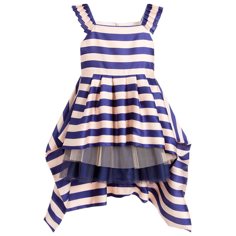Junior Gaultier Girls Fancy Satin Dress Girls Dresses Junior Gaultier [Petit_New_York]