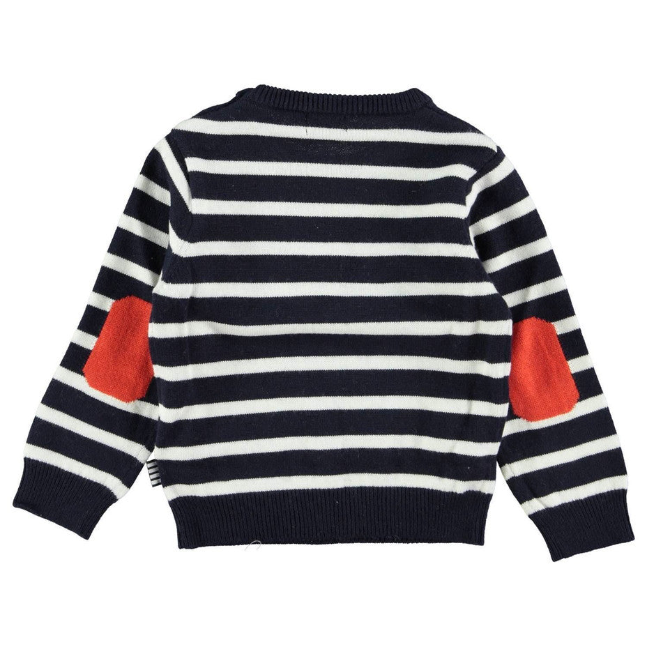 Junior Gaultier Baby Knitted Sweater Baby Sweaters & Sweatshirts Junior Gaultier [Petit_New_York]