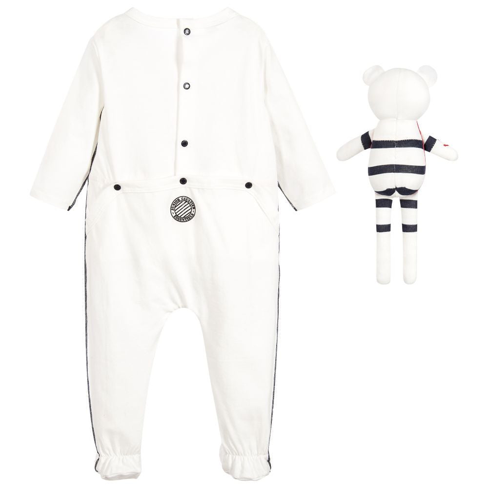 Junior Gaultier Baby Nautical Two-piece Gift Set Baby Rompers & Onesies Junior Gaultier [Petit_New_York]