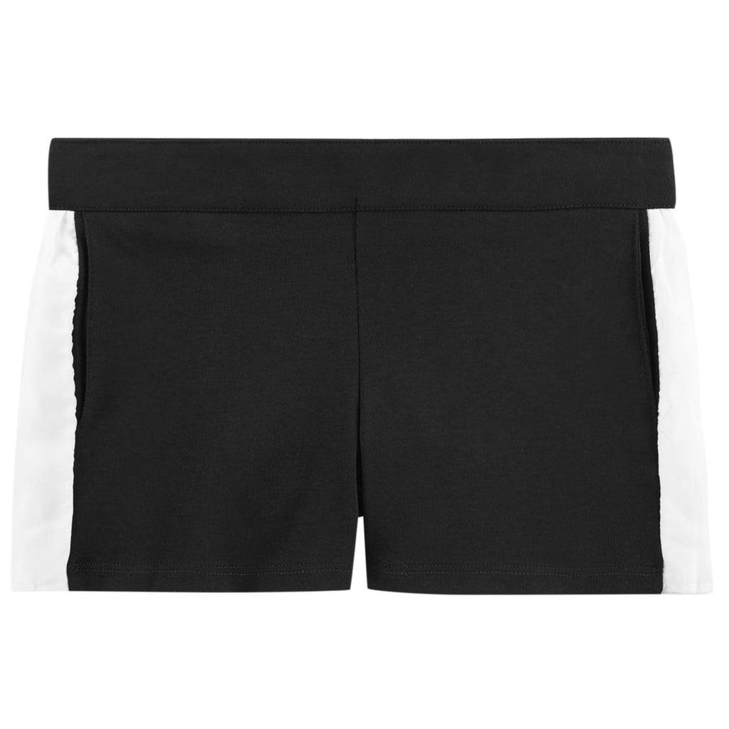 Girls Black & White Shorts (Mini-Me)