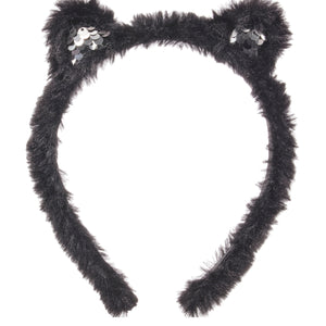 Karl Lagerfeld Girls Fur 'Choupette' Headband