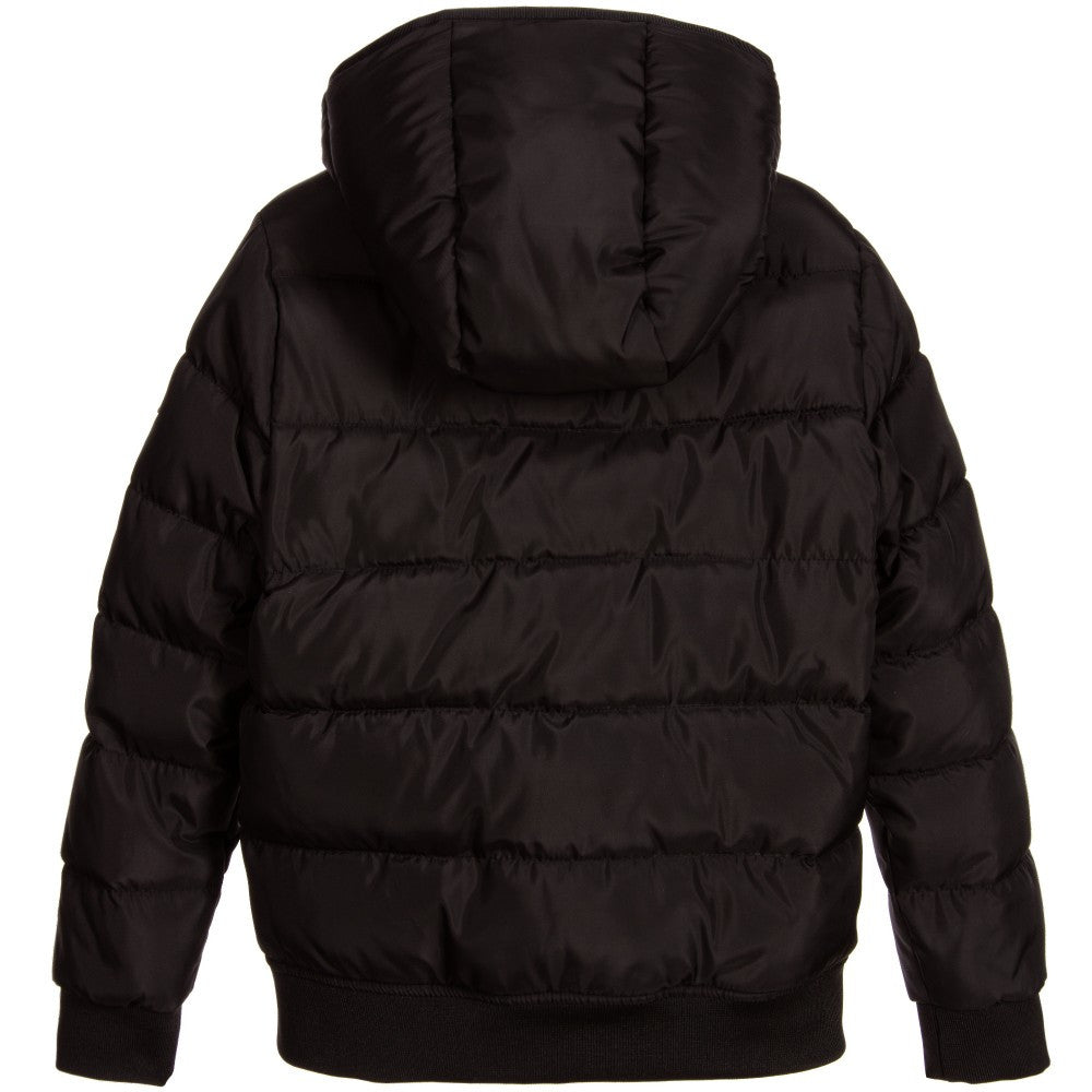 Karl Lagerfeld Boys Black Puffer Jacket Boys Jackets & Coats Karl Lagerfeld Kids [Petit_New_York]