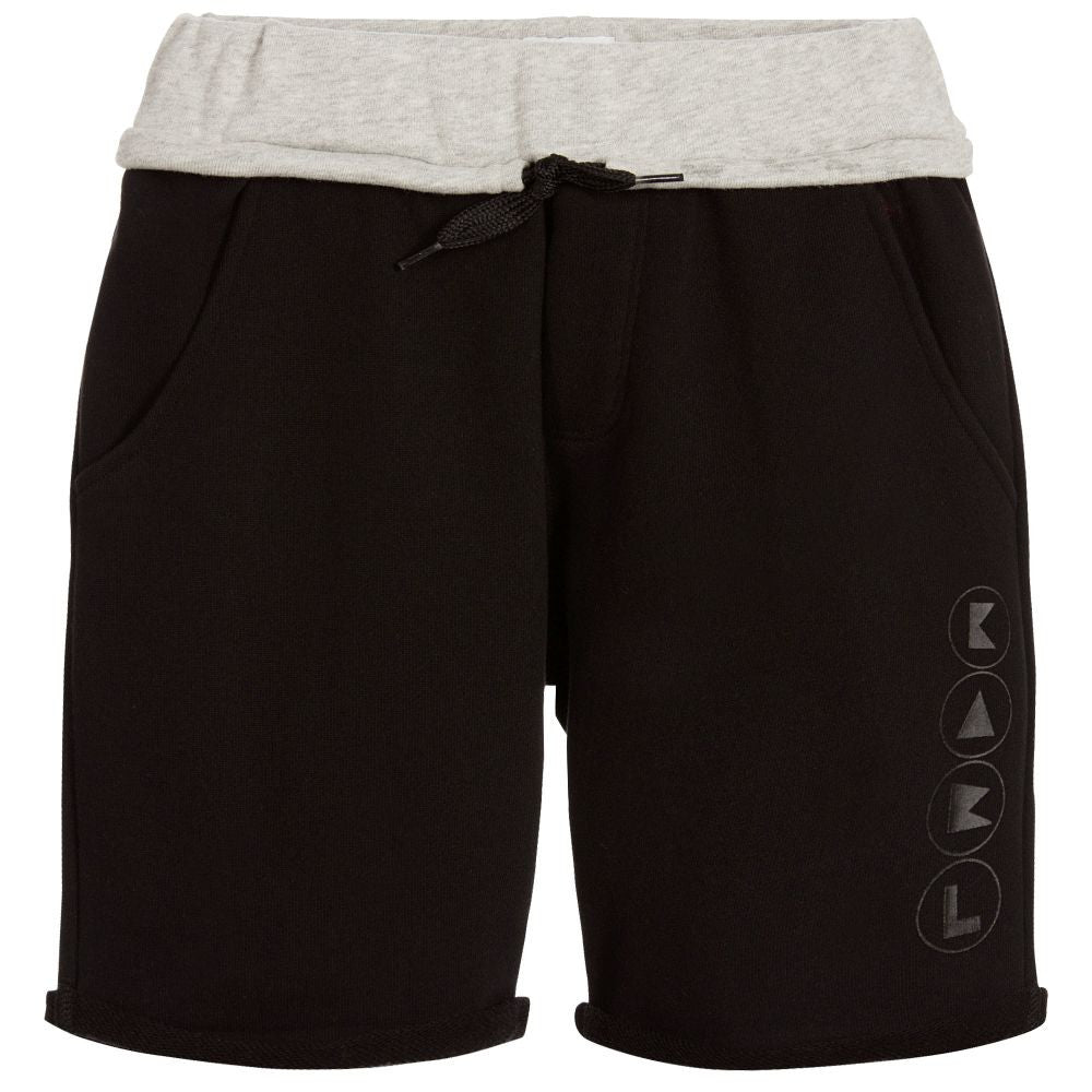Karl Lagerfeld Boys Black Sweatshorts Boys Shorts Karl Lagerfeld Kids [Petit_New_York]