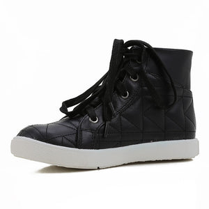 Karl Lagerfeld Boys High-Top Black Leather Sneakers Boys Shoes Karl Lagerfeld Kids [Petit_New_York]