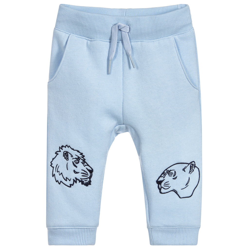 Baby Blue 'Lion' Printed Sweatpants (unisex)
