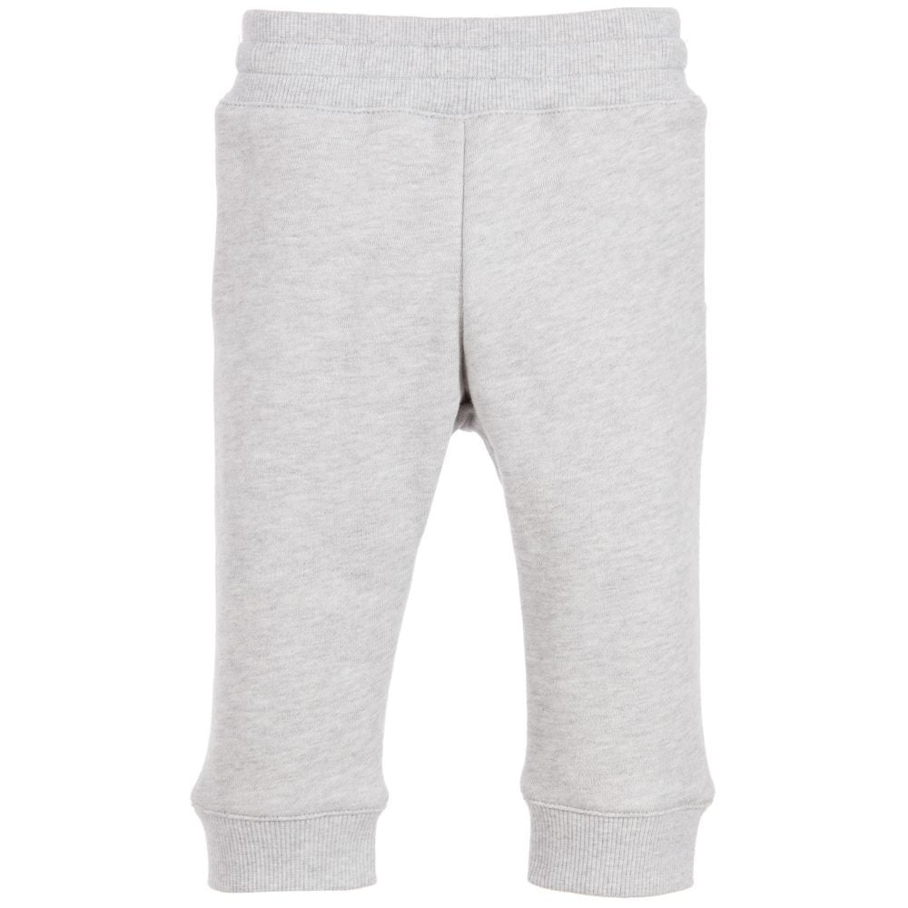 Kenzo Boys Grey Emoji Sweatpants Baby Bottoms Kenzo Paris [Petit_New_York]