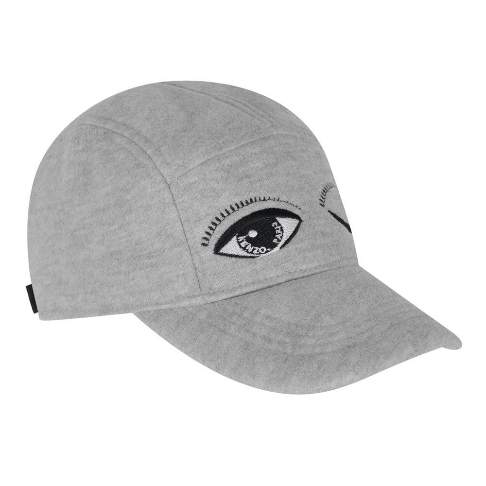 Kenzo Boys Grey 'Eye' Cap Accessories Kenzo Paris [Petit_New_York]