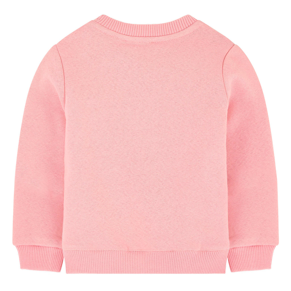 Baby Girls Pink 'Tiger & Friends' Sweatshirt