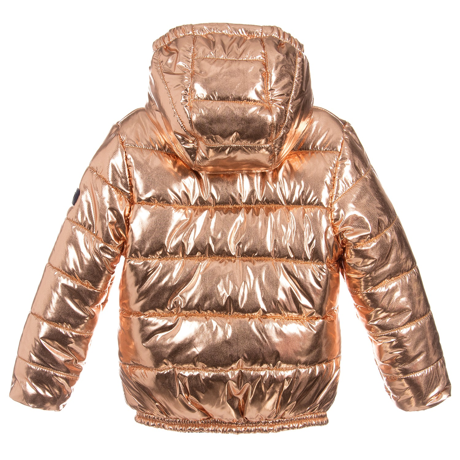 2dca63011 Kenzo Girls Shiny Brass Puffer Jacket – Petit New York