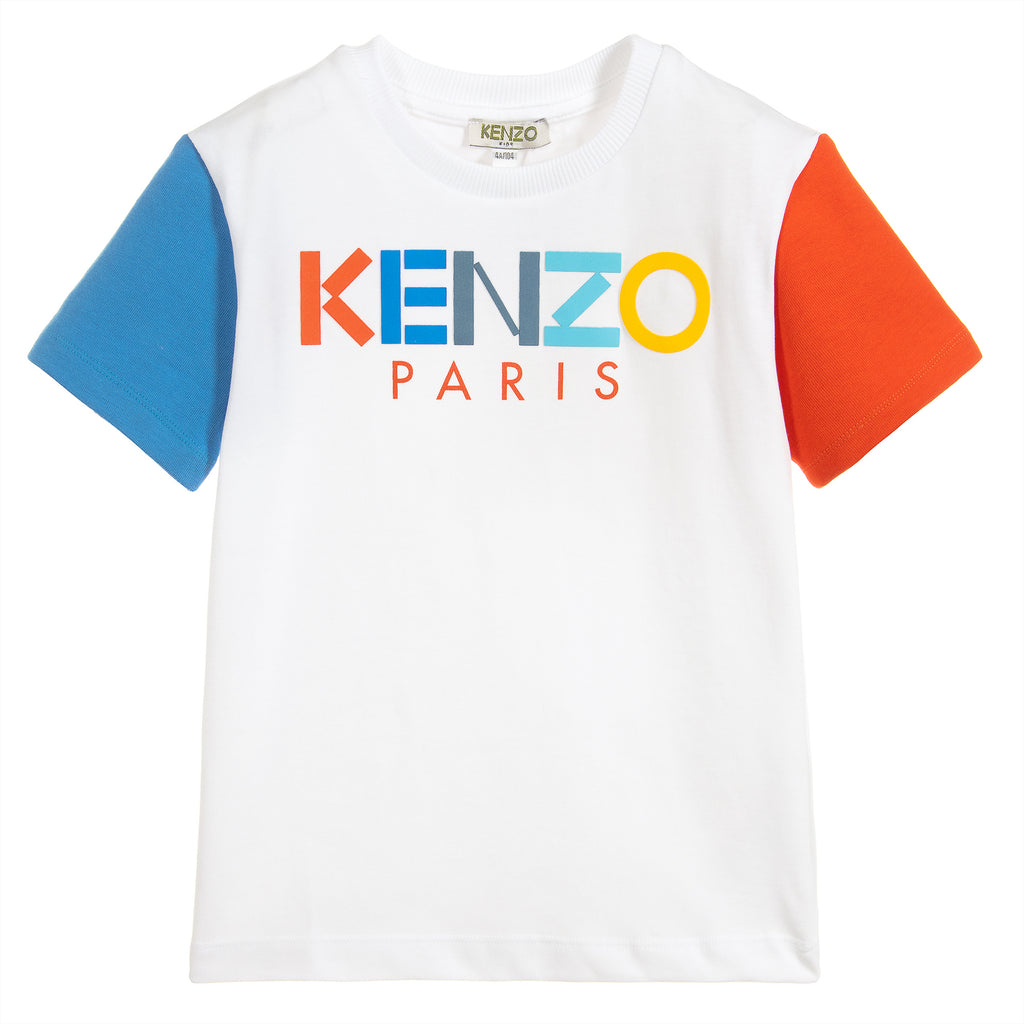 Unisex Colorful Logo T-shirt