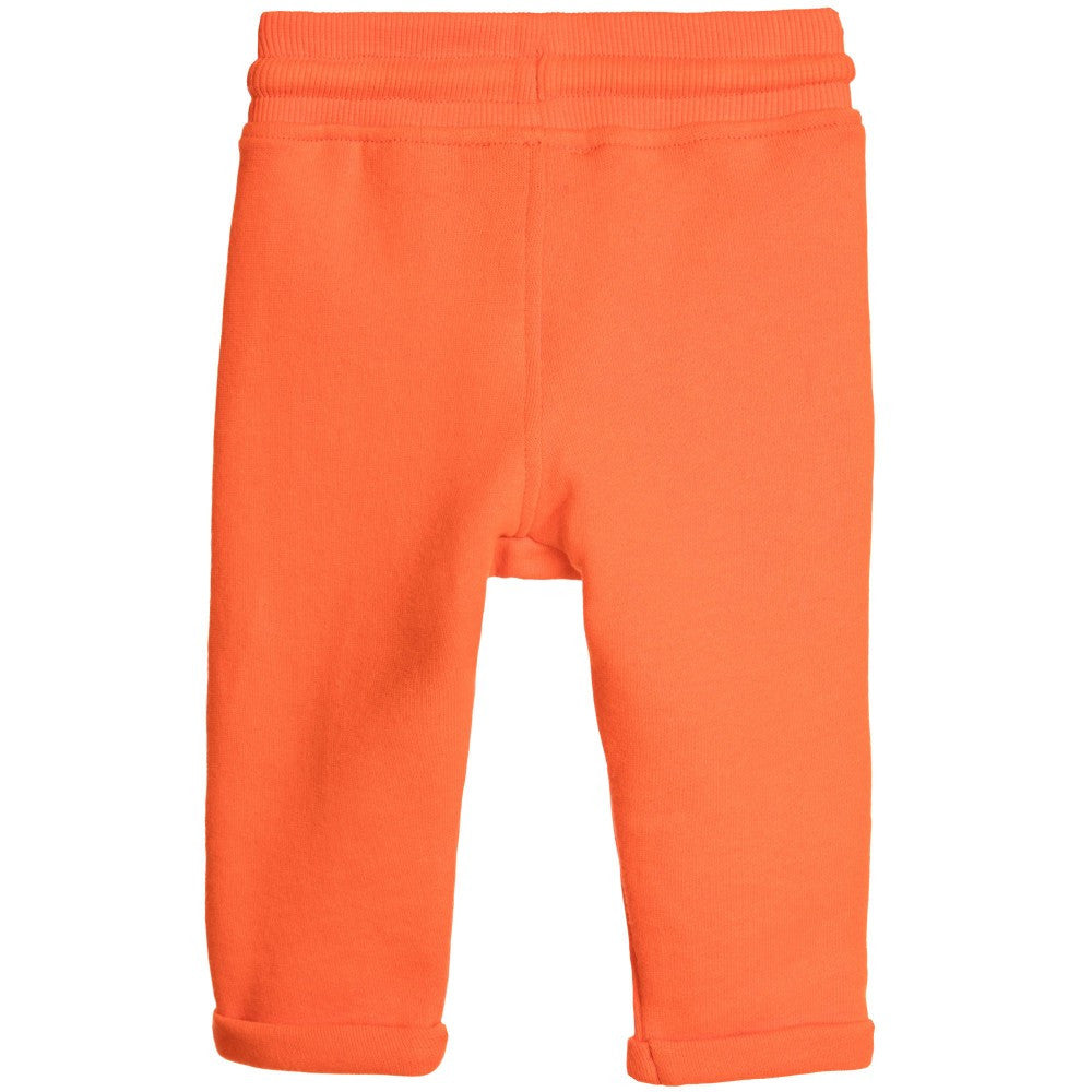 Kenzo Baby Boys Orange Tiger Sweatpants Baby Bottoms Kenzo Paris [Petit_New_York]