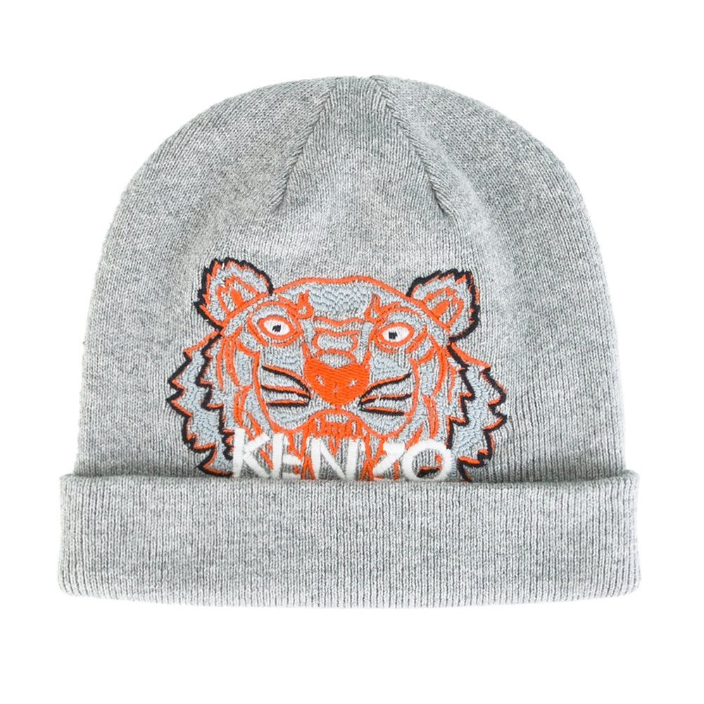 Kenzo Baby Boys Grey Knitted Tiger Hat – Petit New York f44fca48bd0