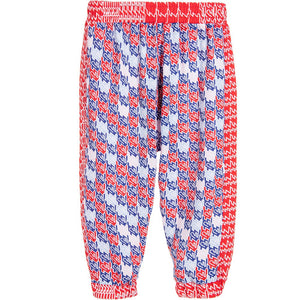 Kenzo Baby Girls 'Escale' Print Pants Baby Bottoms Kenzo Paris [Petit_New_York]