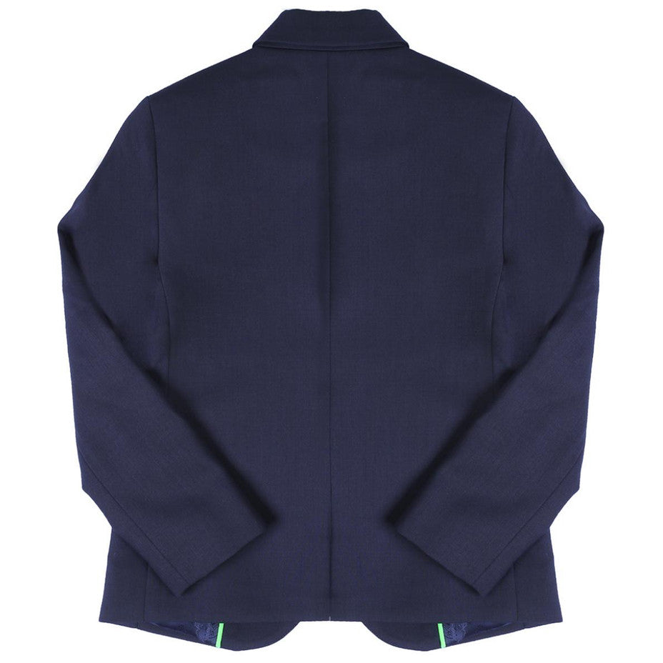 Kenzo Boys Navy Blue Wool Blazer Boys Suits & Blazers Kenzo Paris [Petit_New_York]