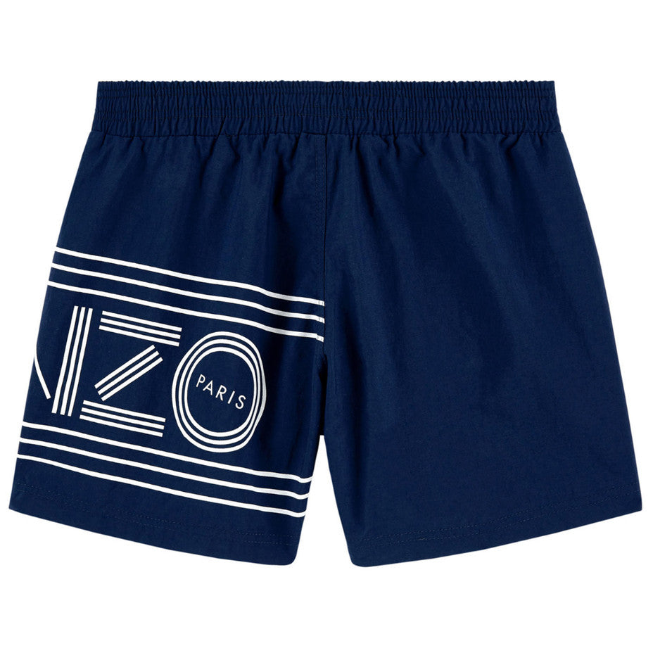 Kenzo Boys Navy Swim Shorts Boys Swimwear Kenzo Paris [Petit_New_York]