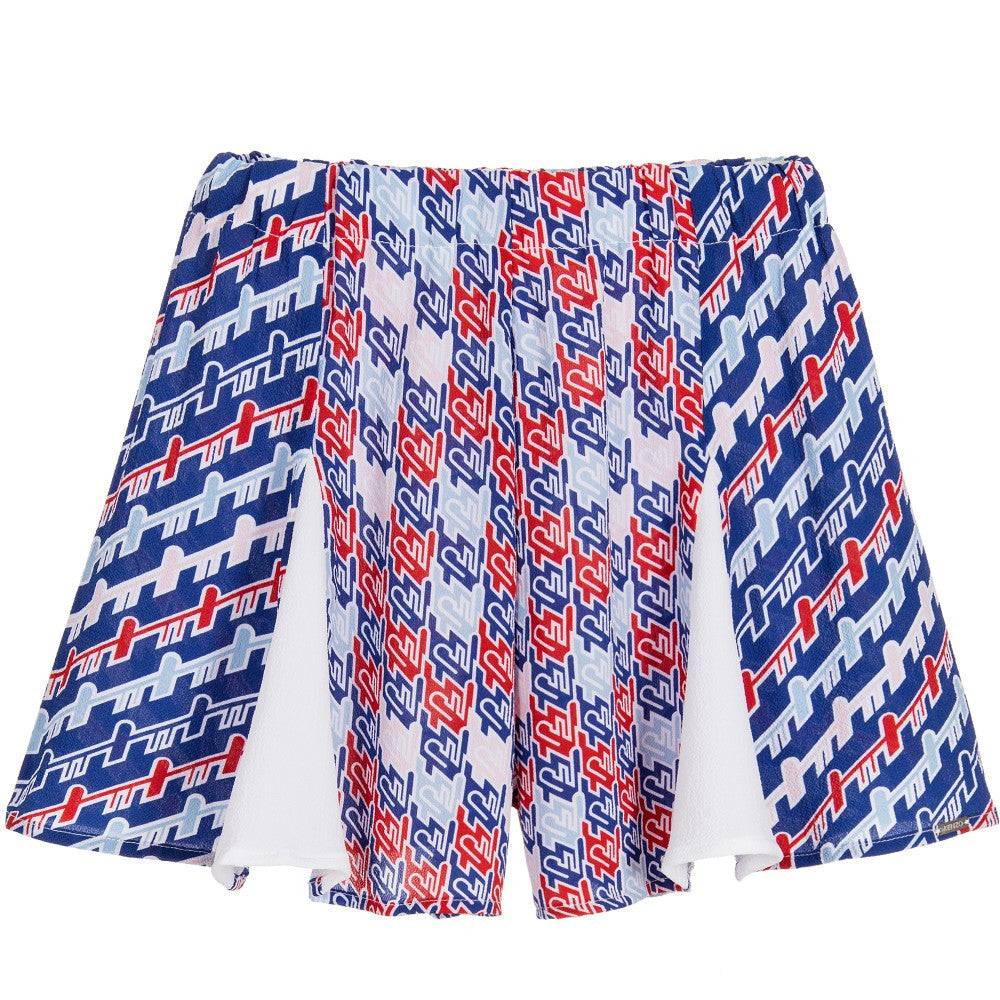 Kenzo Girls 'Escale' Print Skort | New Collection