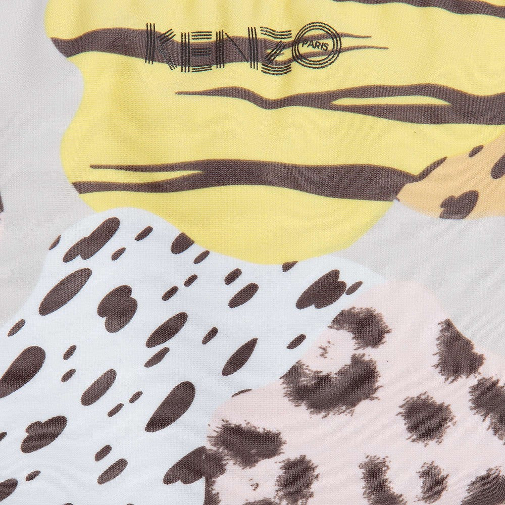 Kenzo Girls Reversible Animal Print Bikini Girls Swimwear Kenzo Paris [Petit_New_York]