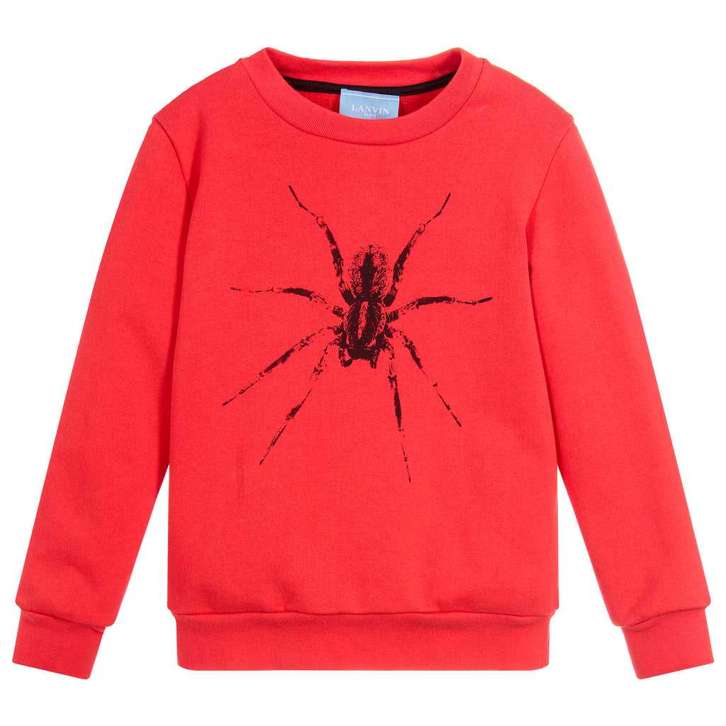 Unisex Red Spider Sweatshirt