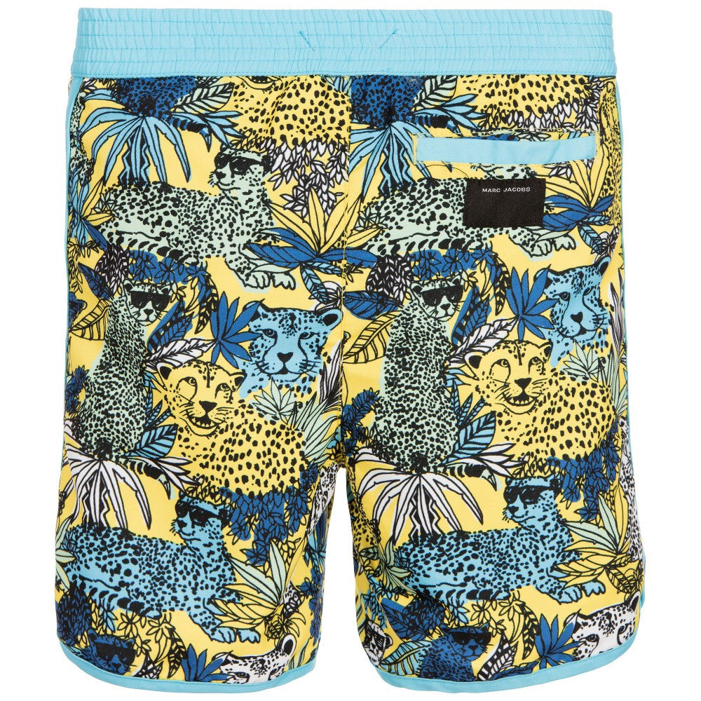 Little Marc Jacobs Boys Leopard Swim Shorts Boys Swimwear Little Marc Jacobs [Petit_New_York]