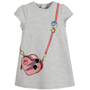 Little Marc Jacobs Baby Girls Crossbody bag Dress Baby Dresses Little Marc Jacobs [Petit_New_York]