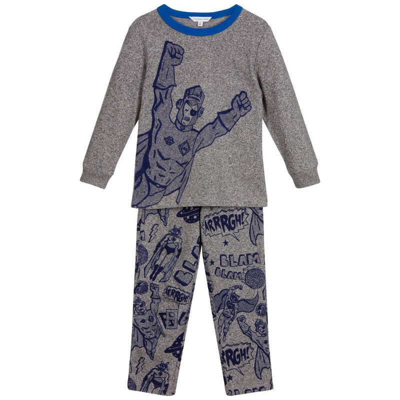 Little Marc Jacobs Boys SuperHero Pajama Set Boys Sets Little Marc Jacobs [Petit_New_York]