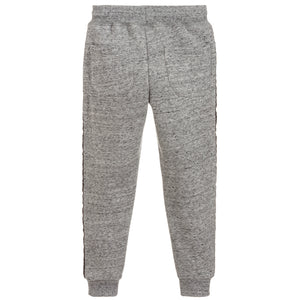 Boys Grey Logo Sweatpants