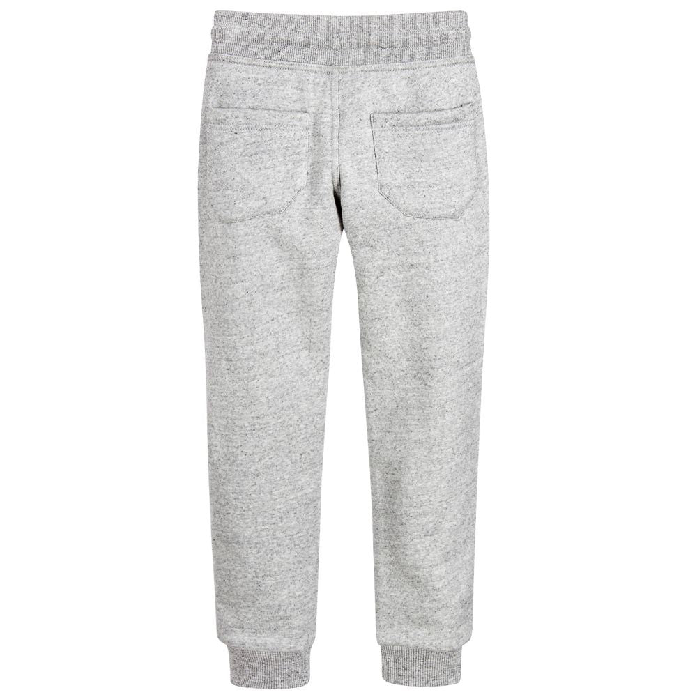 Little Marc Jacobs Boys Grey Sweatpants Boys Pants Little Marc Jacobs [Petit_New_York]