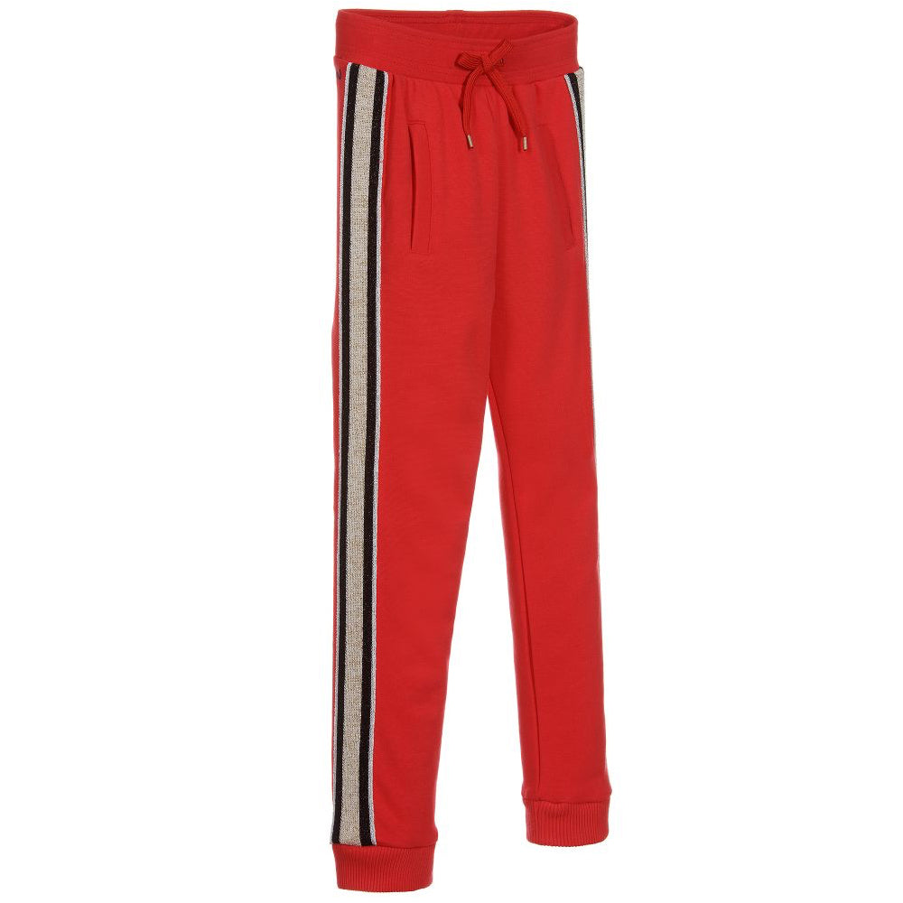 Marc Jacobs Girls Red Tracksuit Pants