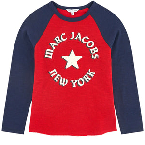 Marc Jacobs Logo Print Long-Sleeved T-shirt (unisex)