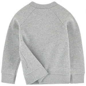 Marni Girls Grey and Red Logo Sweatshirt