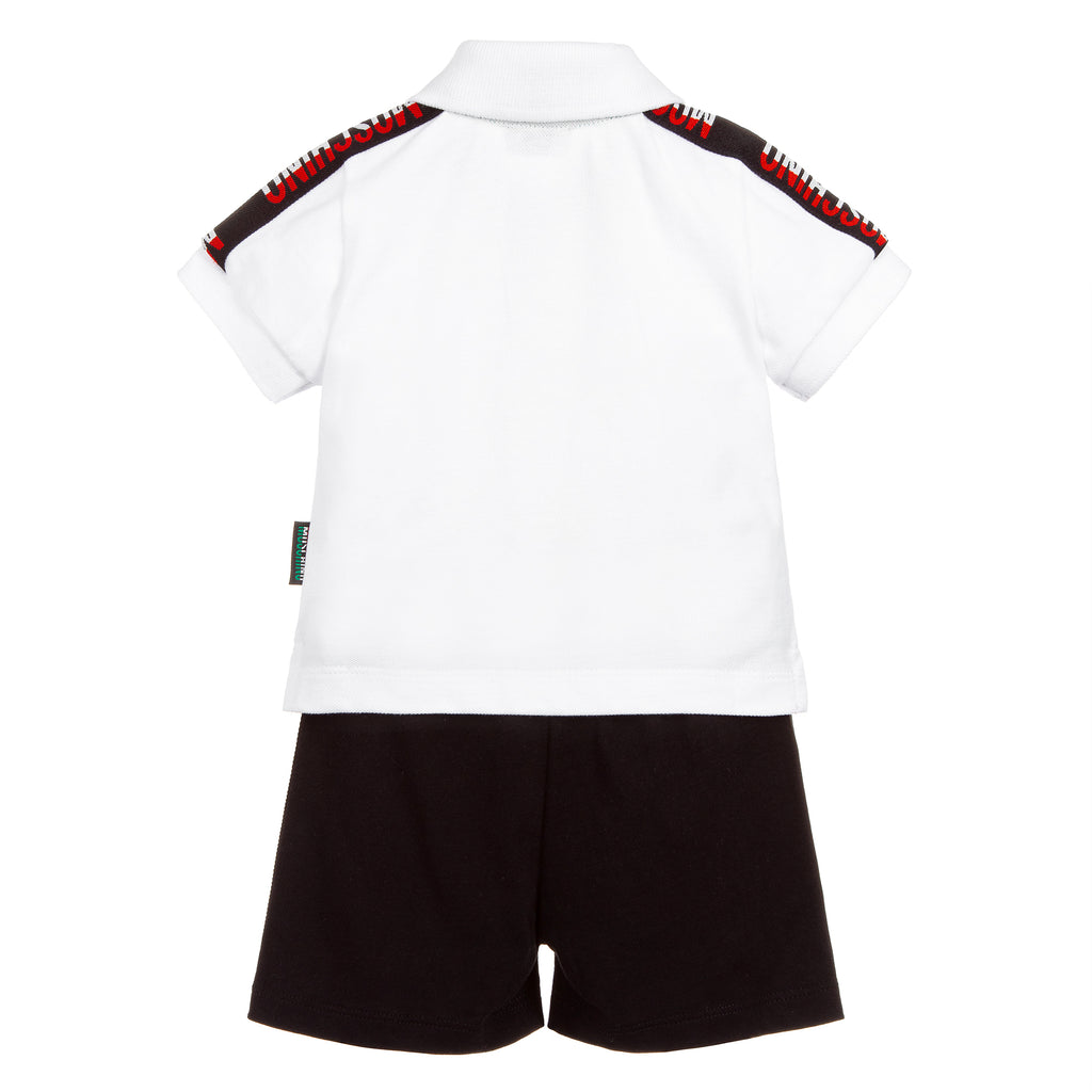 Baby Boys Polo & Shorts Logo Set
