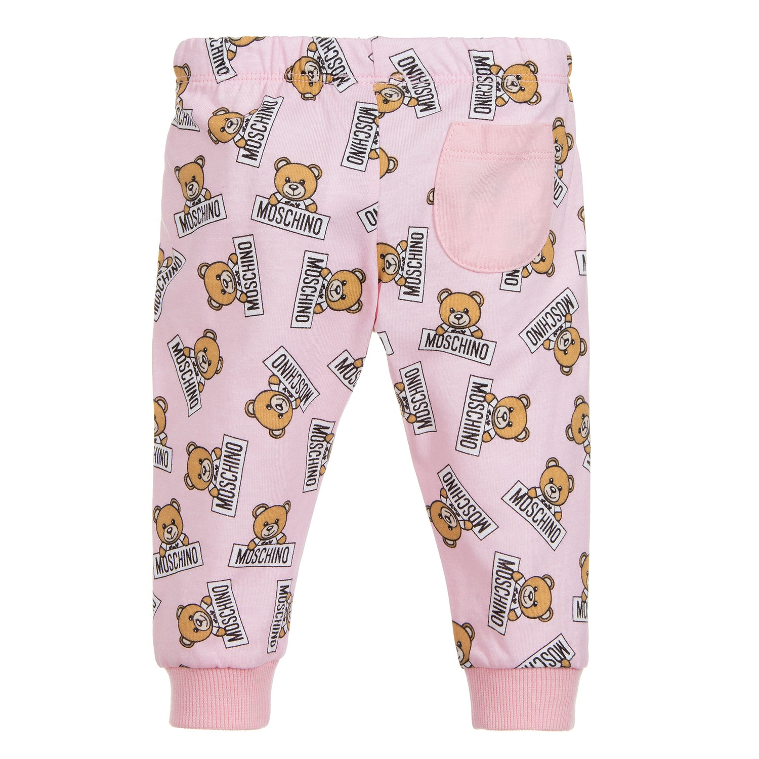 cbbf7d0d573b2 Moschino Baby Girls Pink Teddybear Logo Set – Petit New York
